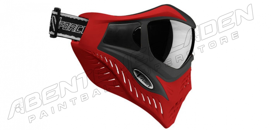 VForce Grill SC Thermalmaske - Black on Red