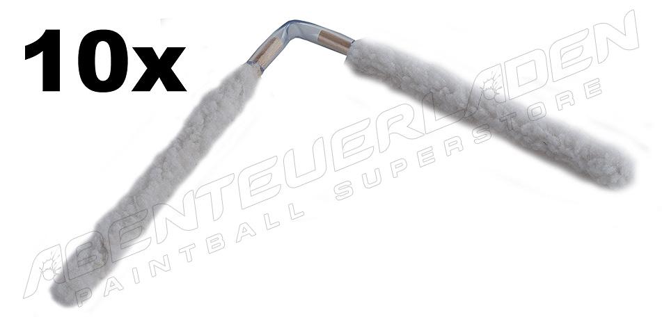 10 Stück SWAB flexibel weiß