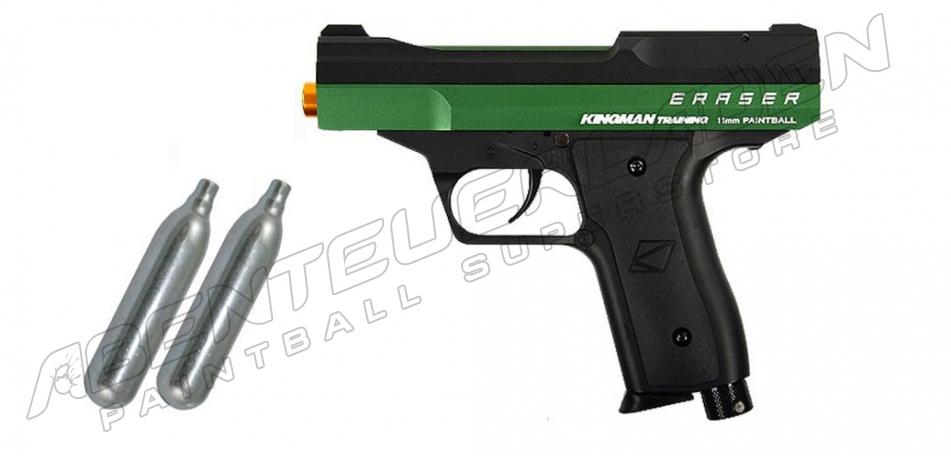 KT Eraser RAM Pistole - Racing Green