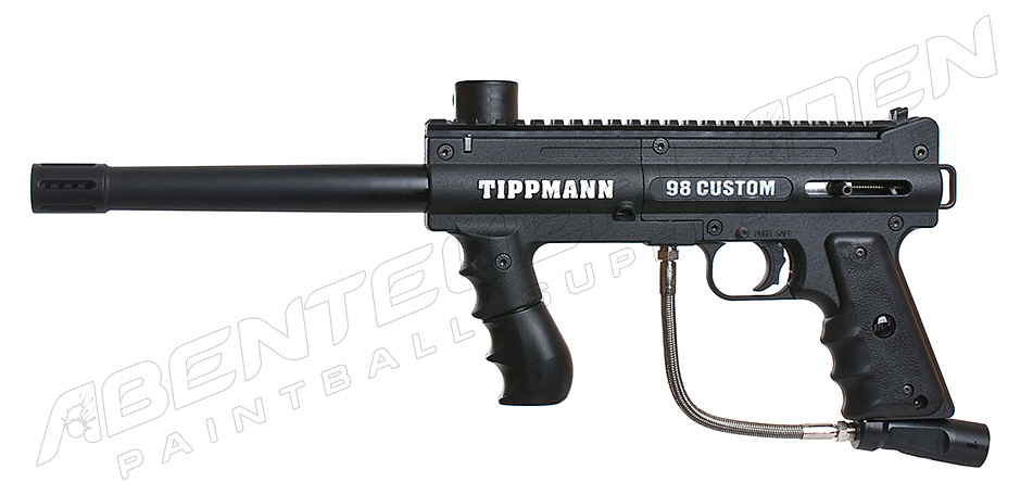 Tippmann 98 Custom PS schwarz + Tuninglauf