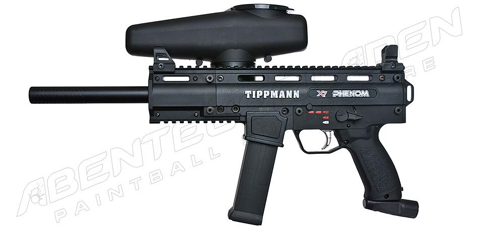 Tippmann X7 Phenom elektrisch + Offset Adapter + Tac Cap