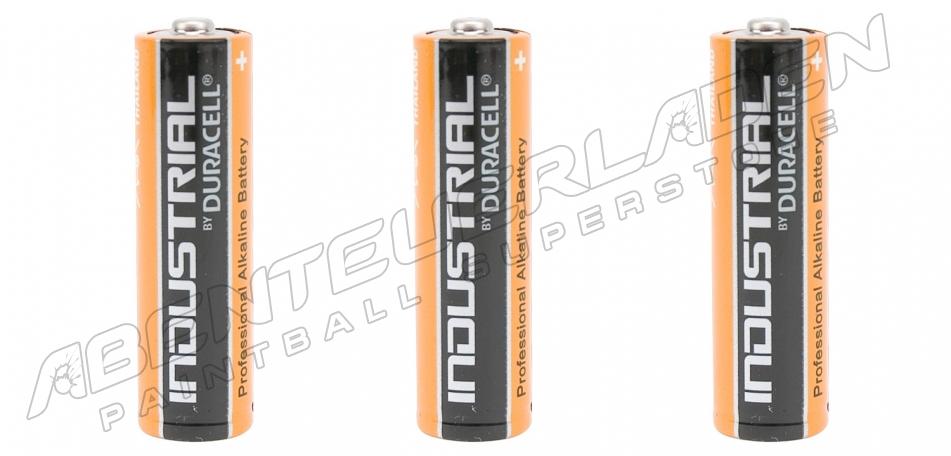 3 Stück Duracell Industrial AA Batterie
