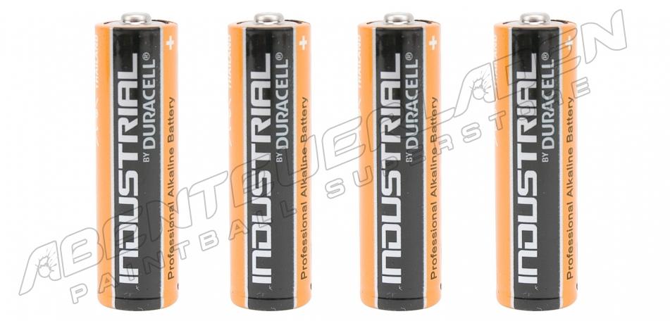 4 Stück Duracell Industrial AA Batterie