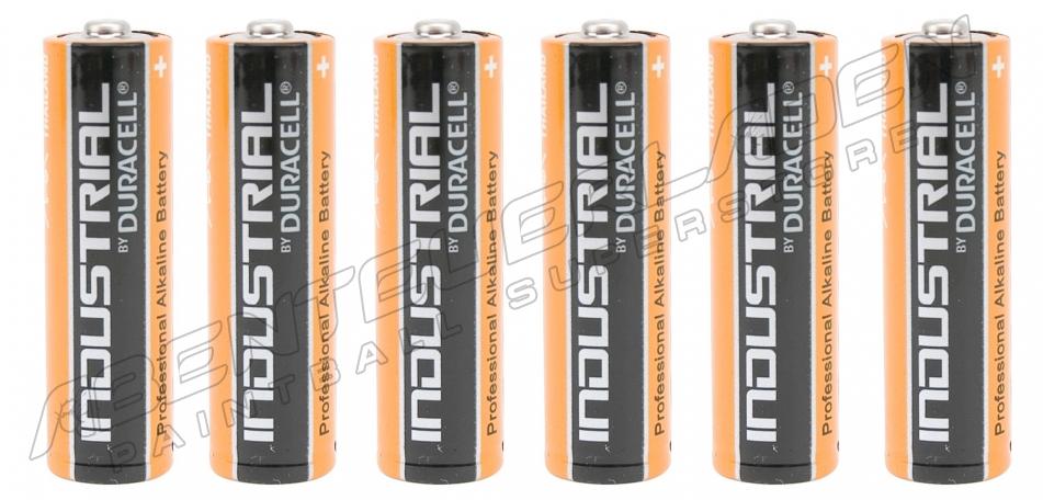 6 Stück Duracell Industrial AA Batterie