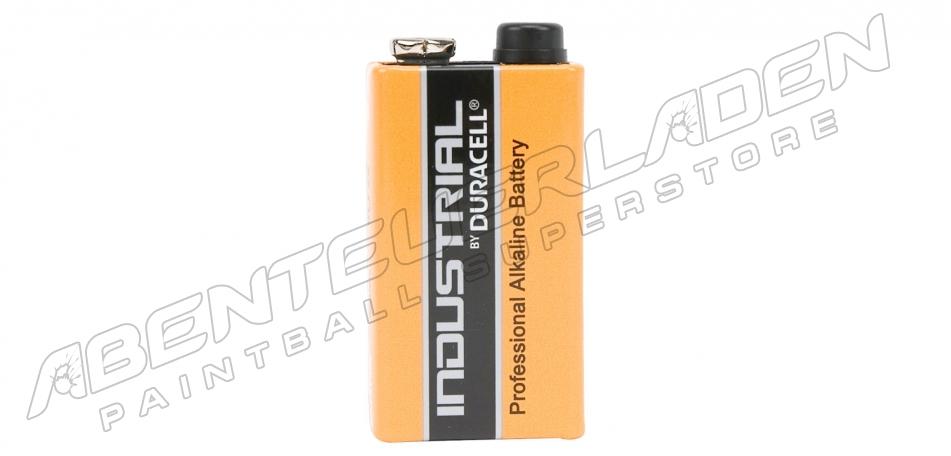 1 Stück Duracell Industrial 9 Volt Block Batterie