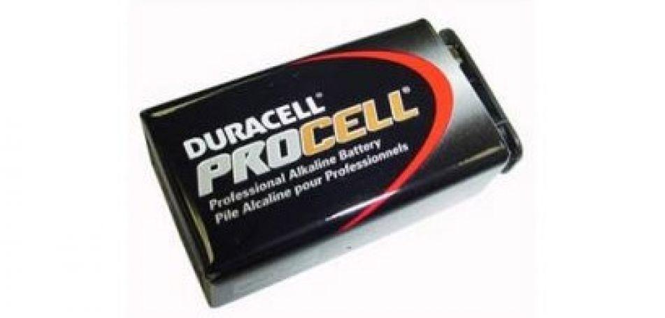Duracell Pro Cell 9 Volt Block Batterie