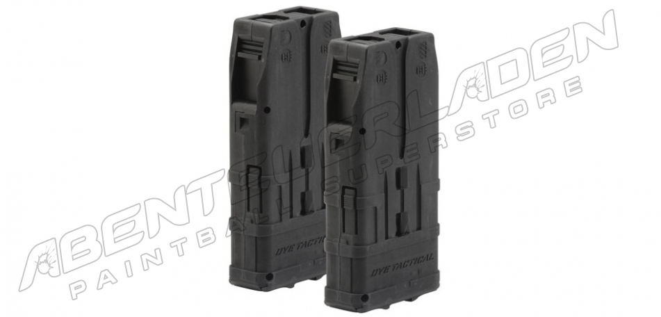 Dye DAM DTM-10 Dual Pack Magazin schwarz