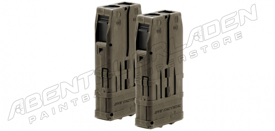 Dye DAM DTM-10 Dual Pack Magazin dark earth