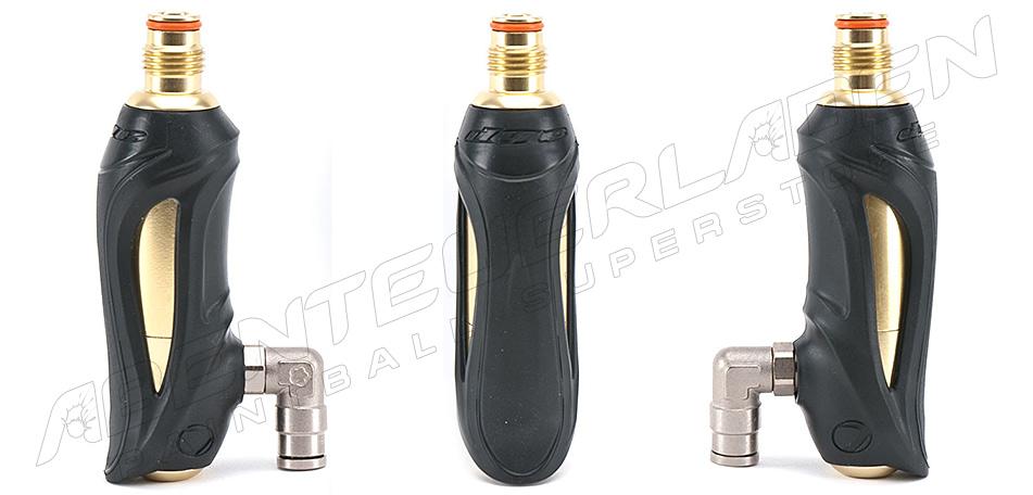 Dye Hyper 3 Exportregulator schwarz gold mit kleinem Gewinde