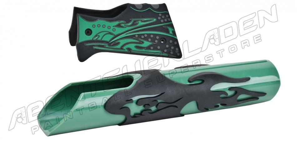 Warped Sportz Bodykit Flame grün