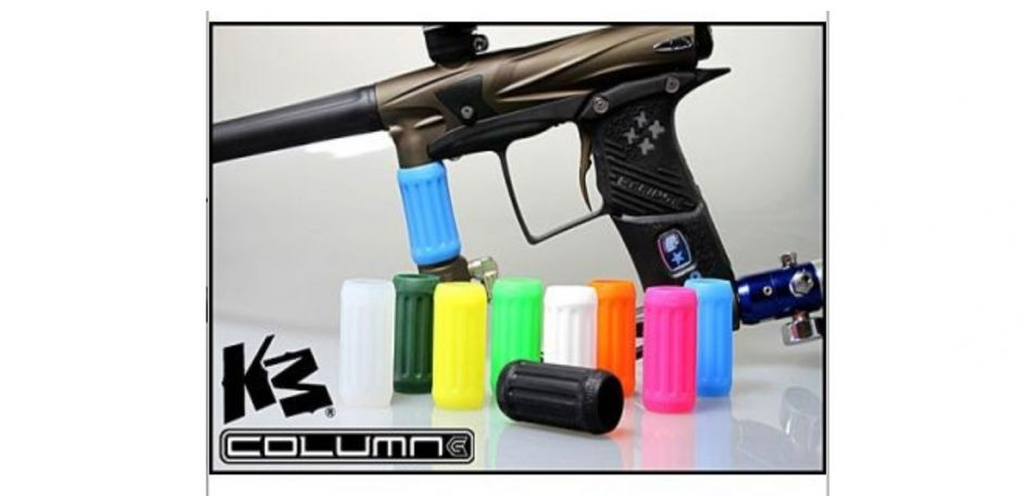 KM Column Grips clear