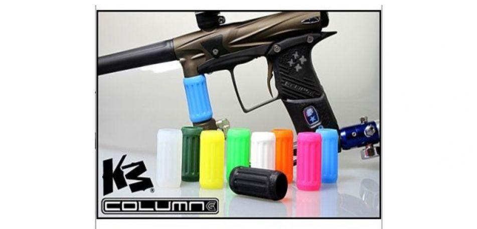KM Column Grips white