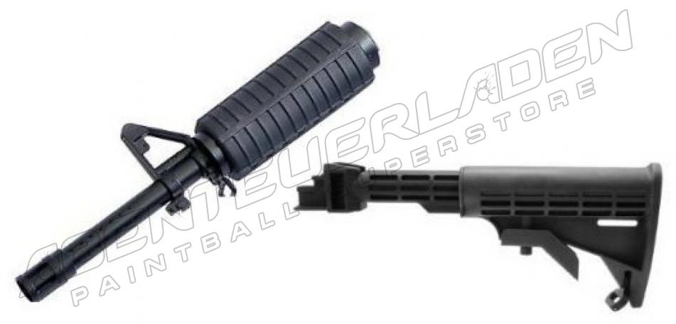 M16 Kit - Collapsible Stock + Lauf für Tippmann A5