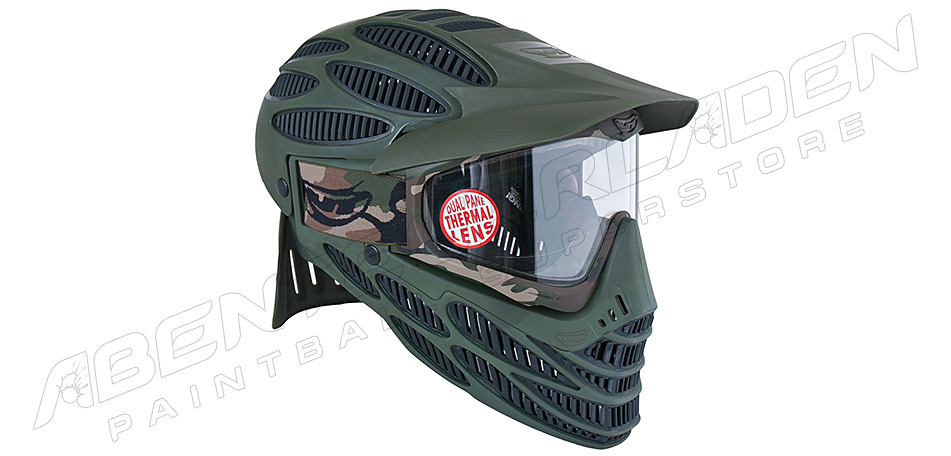JT Spectra Flex 8 Full Coverage Thermalmaske oliv
