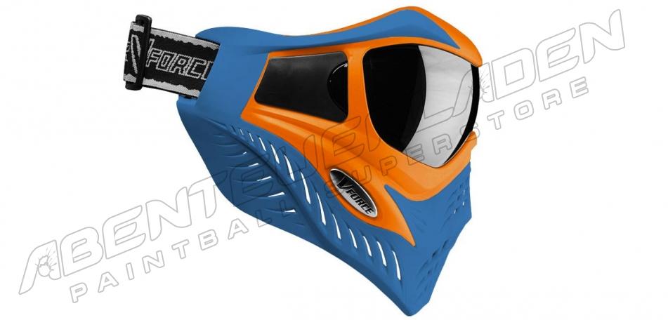 VForce Grill Thermalmaske Limited orange on blue