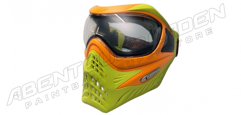 VForce Grill Thermalmaske Limited orange on lime
