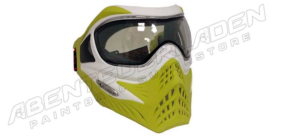 VForce Grill Thermalmaske Limited white on lime