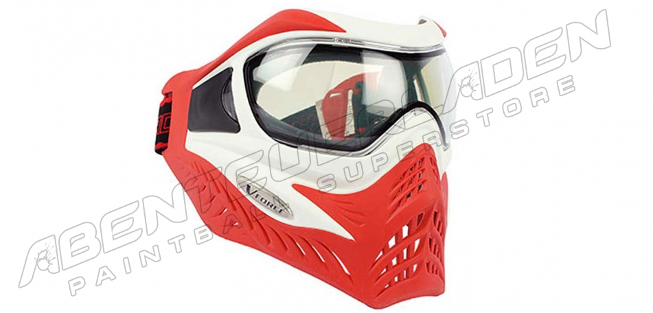 VForce Grill Thermalmaske Limited white on red