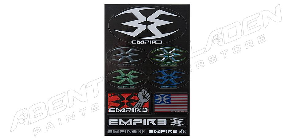 Empire 10er Aufkleber Set