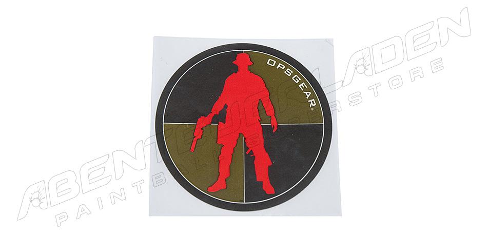 OPSGEAR Aufkleber Red Man