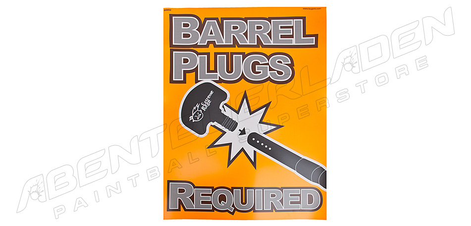 Barrel Plugs Required Banner