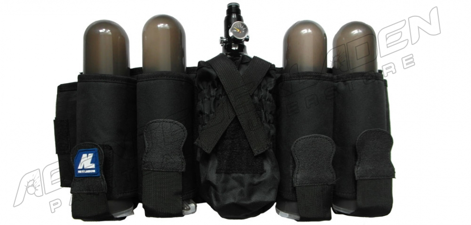 New Legion Battle Pack 4+1 vertikal, schwarz