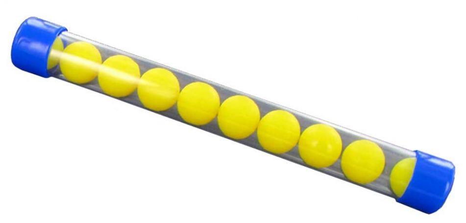 New Legion Nylon Balls cal.68 - 10 Stück - gelb