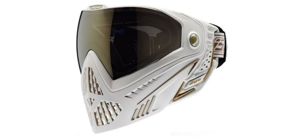 DYE I5 Thermalmaske white / gold