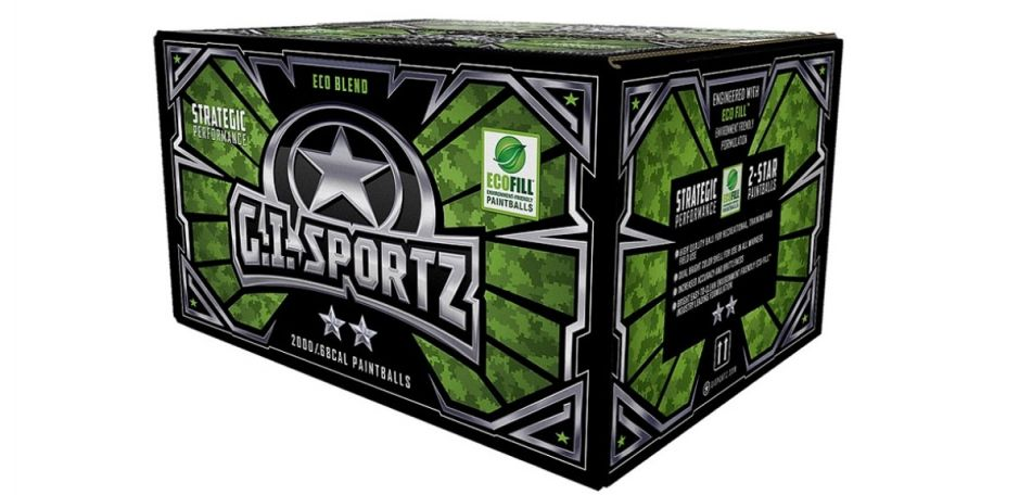 GI Sportz 2 Star Paintballs