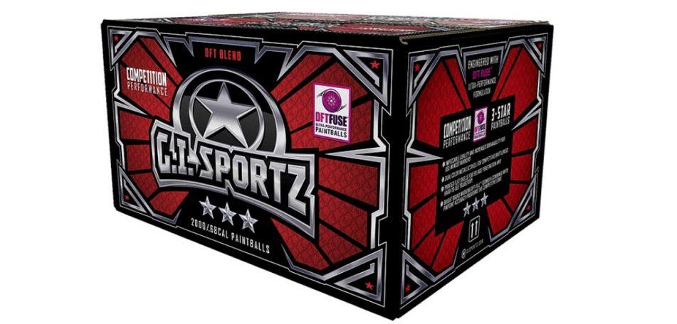 GI Sportz 3 Star Paintballs