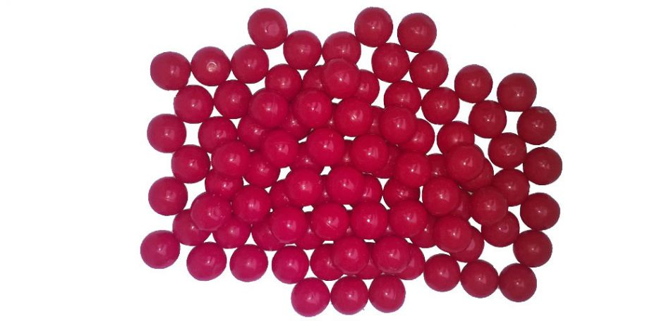 New Legion Nylon Balls cal.43 - 50 Stück - rot