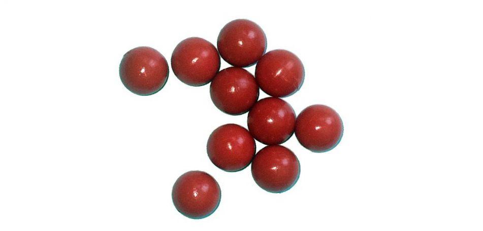 New Legion Rubber Strong Balls / Gummibälle cal.68 - 10 Stück