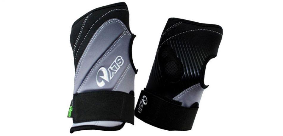 Sly Pro-Merc S11 Halbfinger Handschuhe schwarz grau L/XL