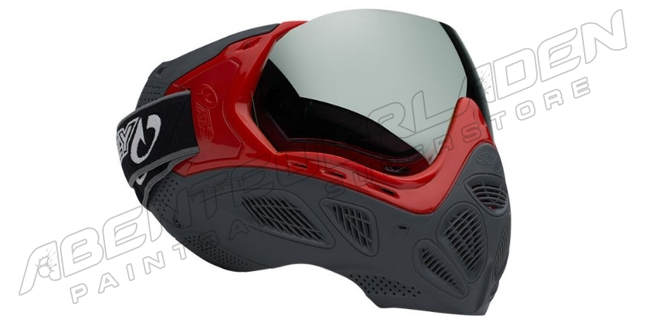 Valken Profit Thermalmaske LE - Red/Grey