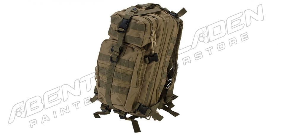 GxG Tactical Mini Bagpack coyote tan