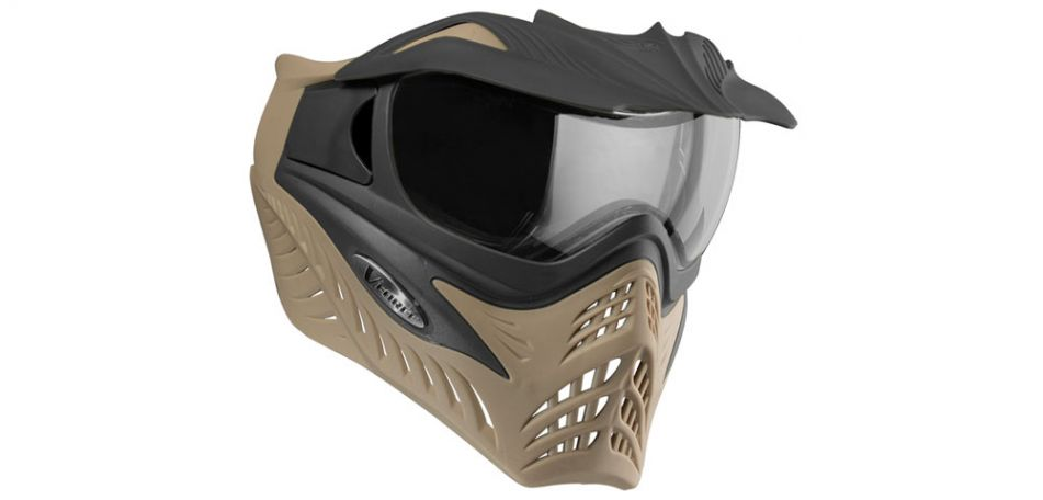 VForce Grill Thermalmaske SF - Coyote / charcoal on tan