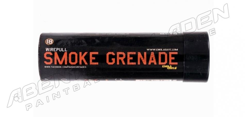 Enola Gaye Wire Pull Rauchgranate - orange