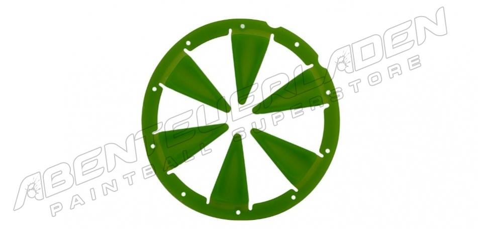 xLin Dye Rotor Feedgate - grün