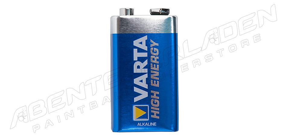 Varta High Energy 9 Volt Block Batterie